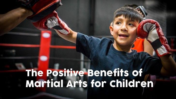 Martial arts kid Positive Benefits