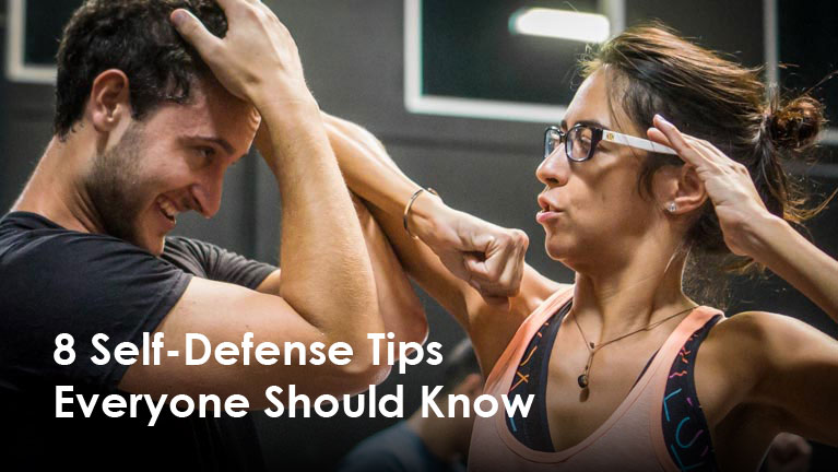 8 Self Defense Tips Everyone Should Know
