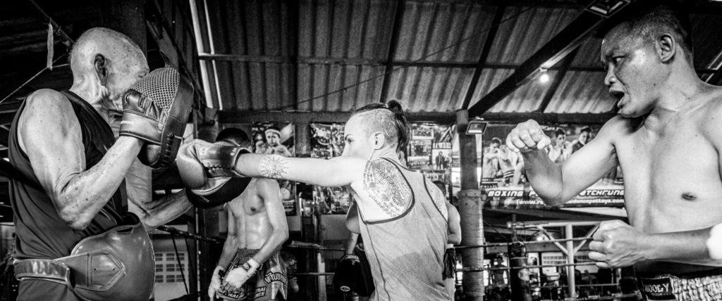 Living Legends of Muay Thai are Sylvie Von Duuglas-Ittu teachers.