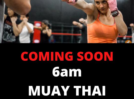 6am Muay Thai